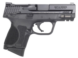 """Smith & Wesson 13010 M&P M2.0 Sub-Compact *MA Compliant 9mm Luger 3.60"""" 10+1 Black Black Armornite Stainless Steel Slide Black Interchangeable Backstrap Grip (Manual)"""