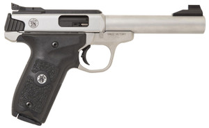 Smith & Wesson 11536 -SW22 Victory Target *MA Compliant 22 LR 5.50 10+1 Stainless Steel Black Polymer Grip