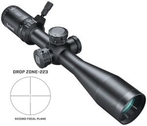 AR OPTICS 3-12X40 BLK DZ223Multi-Coated LensCalibrated for .223 AmmunitionThrow Down PCR Lever