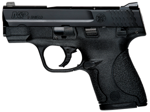Smith & Wesson 187021  M&P 9 Shield *CA Compliant 9mm Luger 3.10 7+1/8+1 Black Stainless Steel Black Polymer Grip