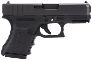 Glock PF2950201  G29 Short Frame 10mm Auto Double 3.77 10+1 Black Polymer Grip/Frame Black Slide