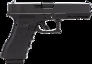 Glock  PI3150201 G31 Standard Double 357 Sig 4.48 10+1 Black Polymer Grip/Frame Grip Black CA COMPLIANT