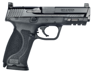 "Smith & Wesson 11826 Performance Center M&P M2.0 CORE Pro 9mm Luger 4.25"" 17+1 Matte Black Black Armornite Stainless Steel Slide Black Interchangeable Backstrap Grip"