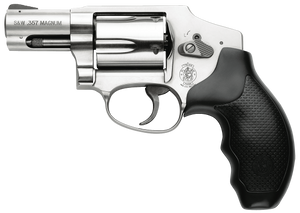 Smith & Wesson  163690 640 Internal Hammer 357 Mag 2.13 5 Round Stainless Steel Black Synthetic Grip