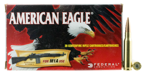 Federal A76251M1A  American Eagle  7.62x51 NATO 168 GR Open Tip Match (OTM) 20 rounds