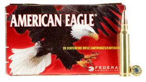 Federal AE223T75  American Eagle  223 Rem/5.56NATO 75 GR Total  Metal Jacket (TMJ) 20 rounds