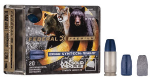Federal P9SHC1  Premium  9mm Luger 147 gr Solid Core Synthetic 20 rounds