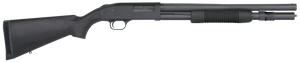 Mossberg 50778 590Tactical Blued Pump 12 Gauge 18.50 3 6+1 Black Fixed Synthetic Stock