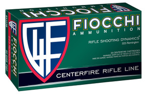 Fiocchi 223B50 Field Dynamics 223 Rem 55 gr Pointed Soft Point (PSP) 50 rounds