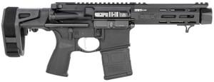 Springfield Armory STV955556B Saint Victor PDW 5.56x45mm NATO 5.50 20+1 Black Hard Coat Anodized Maxim SCW Stock Black Riptilia CQG Grip Right Hand