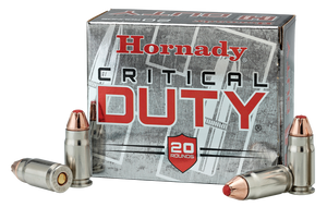 Hornady 91296  Critical Duty FlexLock 357 Sig 135 GR FlexLock 20 rounds