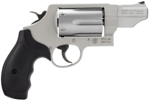 Smith & Wesson 160410 Governor MA  Compliant Single/Double 45 Colt (LC)/45 Automatic Colt Pistol (ACP)/410 2.75 6 rd Black Synthetic Grip Stainless Steel
