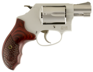 Smith & Wesson  170349 637 Performance Center 38 Special 1.88 5 Round Stainless Steel Wood Grip