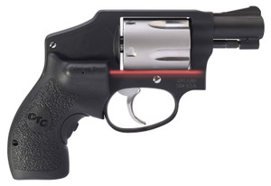 Smith & Wesson 12643 442  Performance Center Revolver 38 Smith & Wesson Special +P 1.88 5 Black Polymer w/Crimson Trace Laser Grip Black Aluminum Alloy Frame/Stainless Steel Cylinder