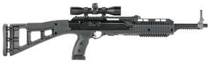 """Hi-Point 4095TS4X32 4095TS Carbine 40 S&W 17.50"""" 10+1 Black Black All Weather Molded Stock Black Polymer Grip Right Hand Scope Included"""