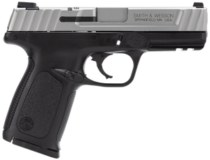 Smith & Wesson  123403 SD VE *CA Compliant* 40 S&W Double 4 10+1 Black Polymer Grip Stainless Steel Slide