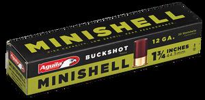 Aguila 1CHB1288 Minishell  12 GA 1.75 5/8 oz 4B (7P)/1B (4P) Shot 20 rounds