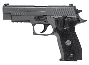 "Sig Sauer 226R9LEGIONRXP P226 Full Size Legion RXP 9mm Luger 4.40"" 10+1 Legion Gray Cerakote Elite Legion Gray Cerakote Stainless Steel Slide Black G10 Grip X-RAY3 Day/Night Sights with ROMEO1PRO Reflex Sight"