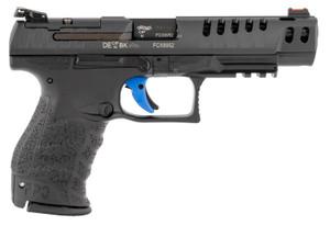 "Walther Arms 2846926  PPQ M2 Q5 Match 9mm Luger 5"" 15+1 Black Black Tenifer Slide Black Polymer Grip"