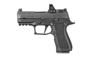"Sig Sauer 320XC9BXR3RXP10 P320 XCompact 9mm Luger 3.60"" 10+1 Black Black Nitron Stainless Steel Black Polymer Grip"