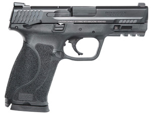 """Smith & Wesson 12105 M&P M2.0 Compact 45 ACP 4"""" 10+1 Black Black Armornite Stainless Steel Slide Black Interchangeable Backstrap Grip  (Manual)"""