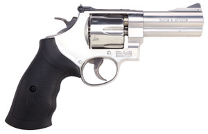 """Smith & Wesson 12463 610  10mm Auto 6rd 4"""" Stainless Steel Black Polymer Grip MASS COMPLIANT"""