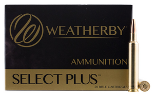 Weatherby B65RPM127LRX Select Plus 6.5 WBY RPM (Rebated Precision Magnum) 127 gr  Barnes LRX Lead Free 20 rounds
