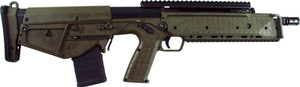 "Kel-Tec RDBGRN RDB 17 5.56x45mm NATO 17.30"" 20+1 Green Fixed Bullpup Stock Black Polymer Grip Ambidextrous Hand"