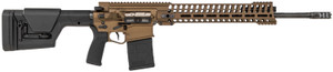 "Patriot Ordnance Factory 01565 Revolution Gen4 6.5 Creedmoor 20"" 20+1 Burnt Bronze Adjustable Magpul PRS Stock  14.5"" M-LOK"