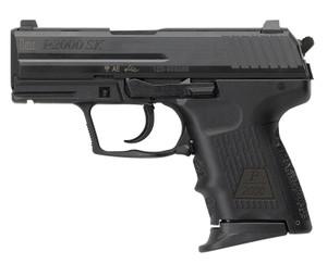 """HK 81000055 P2000SK  Subcompact V3 9mm Luger 3.26"""" 10+1 (2) Black Black Steel Slide Black Interchangeable Backstrap Grip"""