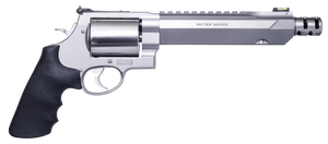 """Smith & Wesson 11626 Performance Center 460 XVR 460 S&W Mag 5rd 7.50"""" Stainless Steel Black Polymer Grip"""
