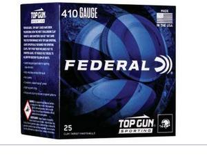 "Federal TGS4121475 Top Gun Sporting 410 Gauge  2.50"" 1/2 oz 7.5 Shot 25 rounds"