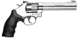 Smith & Wesson 160578 617  K-Frame Single/Double 22 Long Rifle (LR) 6 10 rd Black Synthetic Grip Stainless