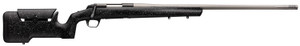 """Browning 035438299 X-Bolt Max Long Range 6.8 Western 3+1 26"""" MB Fluted Matte Black Gray Speck Black Fixed Max Adjustable Comb Stock Right Hand (Full Size)"""