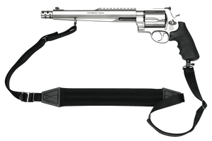 """Smith & Wesson 170231 Performance Center 500 500 S&W Mag 5rd  10.50"""" Stainless Steel Black Polymer Grip"""
