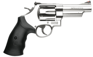 """Smith & Wesson 163603 629 44 Rem Mag 6rd 4.12"""" Stainless Steel Black Polymer Grip"""