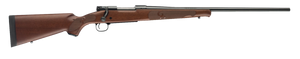 """Winchester Guns 535200225 Model 70 Featherweight 25-06 Rem 5+1 22"""" Satin Walnut Fixed w/Feather Checkering Stock Brushed Polish Blued Right Hand"""