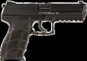 """HK 81000121 P30L V3 9mm Luger 4.45"""" 10+1 (2) Black Black Steel Long Slide  Black Interchangeable Backstrap Grip"""