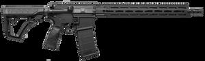 Daniel Defense 12802081047  DDM4 V7 Semi-Automatic 5.56 NATO 16 30+1 Black 6 Position w/SoftTouch Overmodling Stock Black Hardcoat Anodized Aluminum Receiver