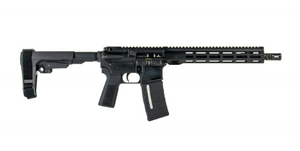 "IWI US Z15TAC1210 Zion-15 Tactical Pistol 5.56x45mm NATO 12.50"" 30+1 Black Black SBA3 Pistol Brace Stock Black B5 Grip Right Hand"
