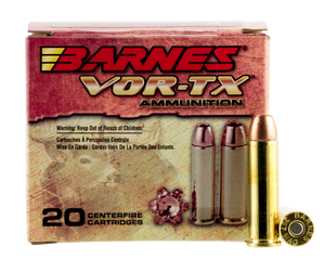Barnes Bullets 21543 VOR-TX Handgun 357 Mag 140 gr Barnes XPB 20 ROUNDS