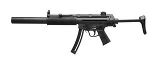 "HK 81000468 MP5, Semi-automatic, 22LR, 16.1"" Barrel, Matte Black Finish, 1 Mag, 25Rd"
