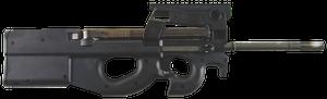 "FN 3848950440 PS90 Standard 5.7x28mm 16"" 10+1 Black Matte Black Fixed Bullpup w/Thumbhole Stock Right Hand"