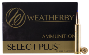 Weatherby B653127LRX Select Plus 6.5x300  Wthby Mag 127 gr LRX Boat-Tail 20 rounds
