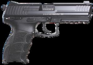 """HK 81000123 P30L V3  9mm Luger 4.45"""" 17+1 (2) Black Black Steel Long Slide Black Interchangeable Backstrap Grip Ambi Safety/Decocker"""