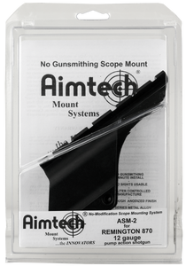 Aimtech ASM2 Saddle Mount  12 Gauge Rem 870 Satin Black