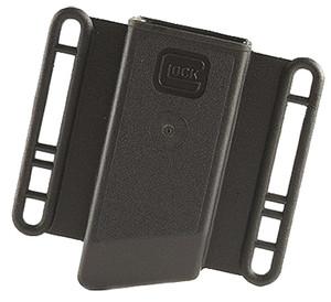 Glock MP17176 Magazine Pouch  Single Fits Glock (Except 42 & 43) 9mm/40S&W/45 GAP Polymer Black