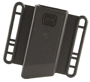Glock MP13080 Magazine Pouch  Single Fits Glock (Except 36) 10mm/45ACP Polymer Black