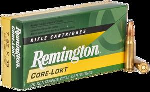Remington Ammunition R762391 Core-Lokt  7.62X39mm 125 GR Pointed Soft Point (PSP) 20 Bx/ 10 Cs