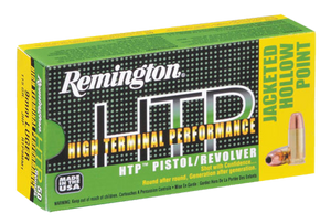 Remington Ammunition RTP380A1 HTP  380 ACP 88 GR Jacketed Hollow Point (JHP) 50 Bx/ 10 Cs